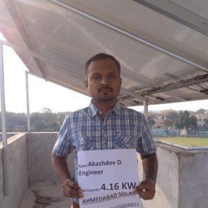 Akashdev - Ahmedabad Solar