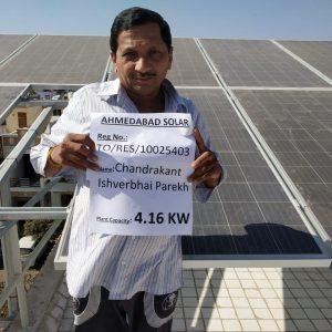 chandrakant parekh - Ahmedabad Solar