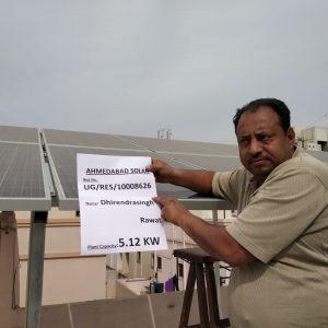 dhirendra rawat - Ahmedabad Solar