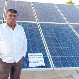 ganshyambhai - Ahmedabad Solar