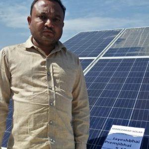 jayeshbhai - Ahmedabad Solar